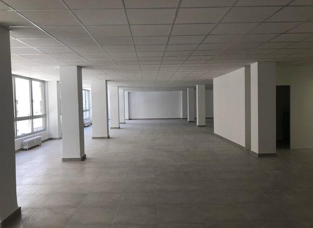 vista desde el fondo del despacho
